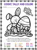 An Easter Activity: Count, Tally and Color FREEBIE