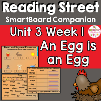 An Egg Is An Egg SmartBoard Companion 1st First Grade