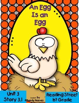 An Egg is an Egg 3.1 Reading Street 1st Grade Resource Pac