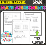 4th Grade Math TEKS Assessments