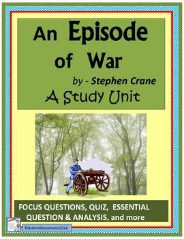 An Episode of War, Study Unit
