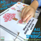 An INTERACTIVE book All About SPRING {with basic WH- questions}