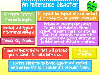 An Inference Disaster:  Implicit and Explicit Information