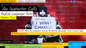 An Inspector Calls, Phase 2: Mr Birling's Confession. Read
