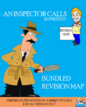 An Inspector Calls Revision Map Bundle