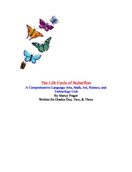 An Integrated Butterfly Unit for First, Second, or Third Graders