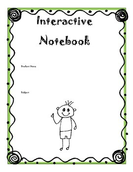 An Interactive Notebook with a total of 30 pages good for