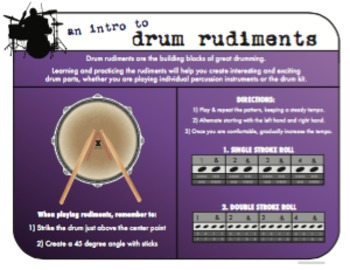 An Intro to Drum Rudiments