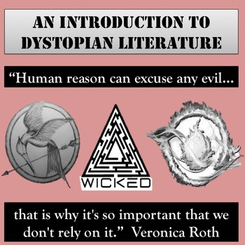An Introduction to Dystopian Literature Lesson: PPT, Activ
