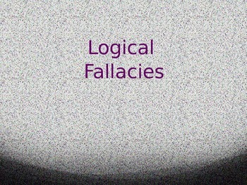 An Introduction to Logical Fallacies