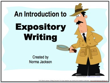An Introduction to/ Review of Expository Writing (PowerPoi