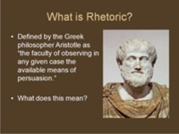 An Introduction to Rhetoric