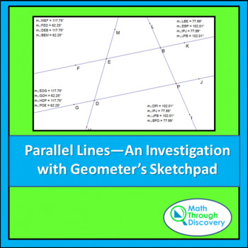 Parallel Lines - An Investigation - GSP