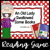 An Old Lady Swallowed Some Books - A Reading Comprehension Game