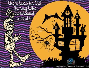 An Old Mummy Who Swallowed A Spider! Book Companion
