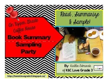 An Upper Grade Summary Sampling Party *Coffee House*