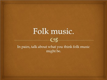 An early English folk tune with chime bar parts