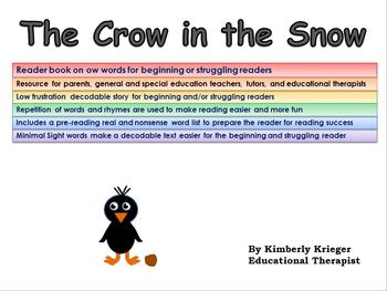 An ow book for struggling and/or beginning readers (snow,