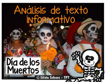Análisis de texto informativo - El Día de los Muertos