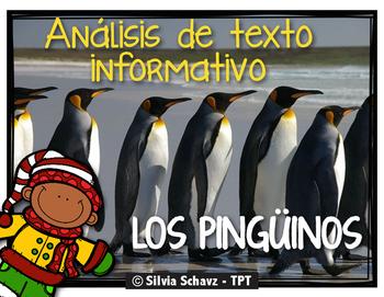 Análisis de texto informativo - Los pingüinos