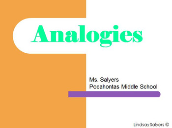 Analogies PowerPoint and Notes