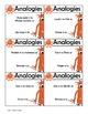Analogy Center Activity, Complete the Analogy, Use Task Pa