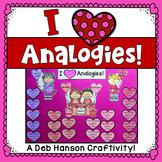 Analogies Craftivity for Valentine's Day