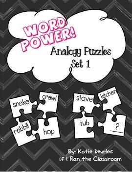 Analogy Puzzles Set 1