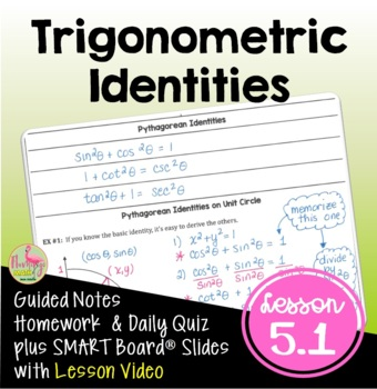 PreCalculus Trigonometric Identities