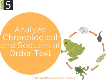 Analyze Chronological and Sequential Order Text
