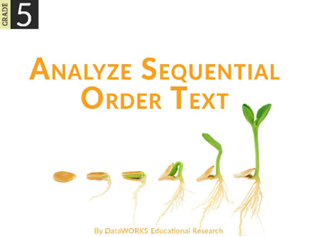Analyze Text that is Organized in Sequential Order
