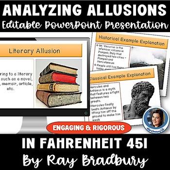 Fahrenheit 451: Analyzing Allusions PowerPoint Presentation
