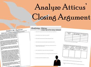 TKAM Analyzing Atticus' Closing Argument