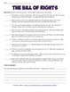 Bill of Rights Scenarios Analysis Worksheet