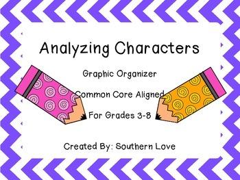 Analyzing Characters Graphic Organizer