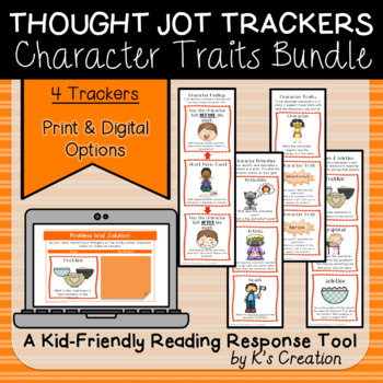 Analyzing Characters Thought Jot Tracker