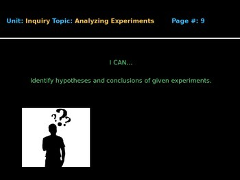 Analyzing Experiments PPT