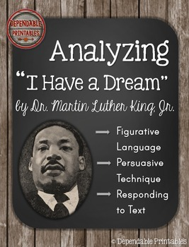 "Analyzing ""I Have a Dream"" by Martin Luther King, Jr."