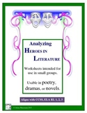 Literary Heroes Analysis: Worksheets and Directions for Pa
