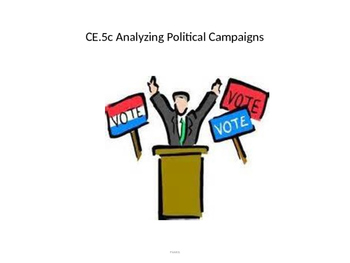 Analyzing Political Campaigns power point (CE.5c)