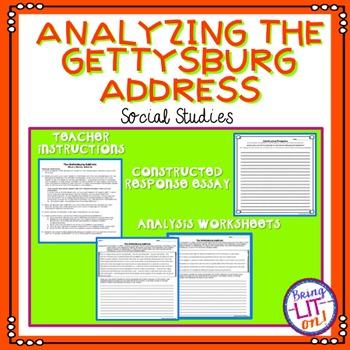 Analyzing the Gettysburg Address