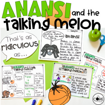 Anansi and the Talking Melon Read-Aloud Activity