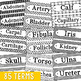 83 Anatomy Science Vocabulary Word Wall Terms or Flash Car