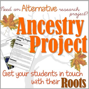 Ancestry Project- An ALTERNATIVE RESEARCH Project!