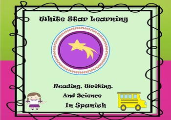Anchor Charts for Writing in Spanish