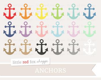 Anchor Clipart; Nautical