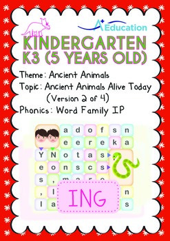 Ancient Animals - Ancient Animals Alive Today (II): Word F