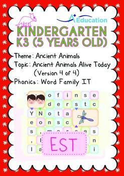 Ancient Animals - Ancient Animals Alive Today (IV): Word F