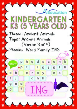 Ancient Animals - Ancient Animals (III): Word Family ING -