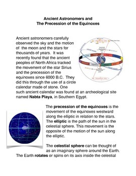 Ancient Astronomers and The Precession of the Equinoxes Co